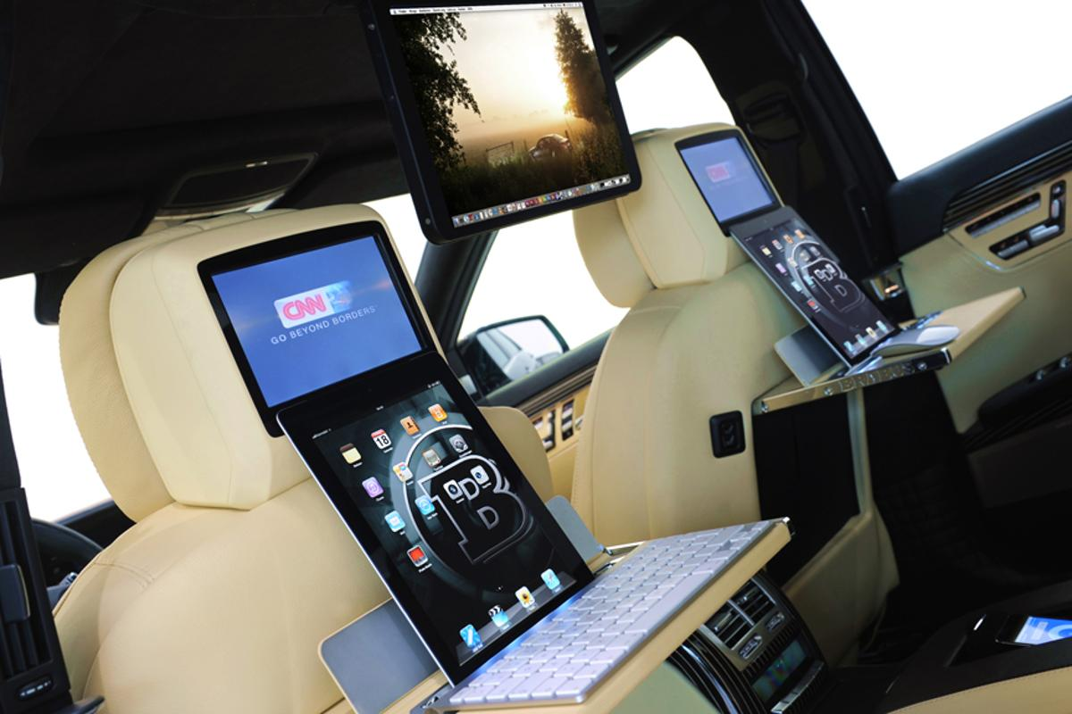 The Brabus iBusiness 2.0 system