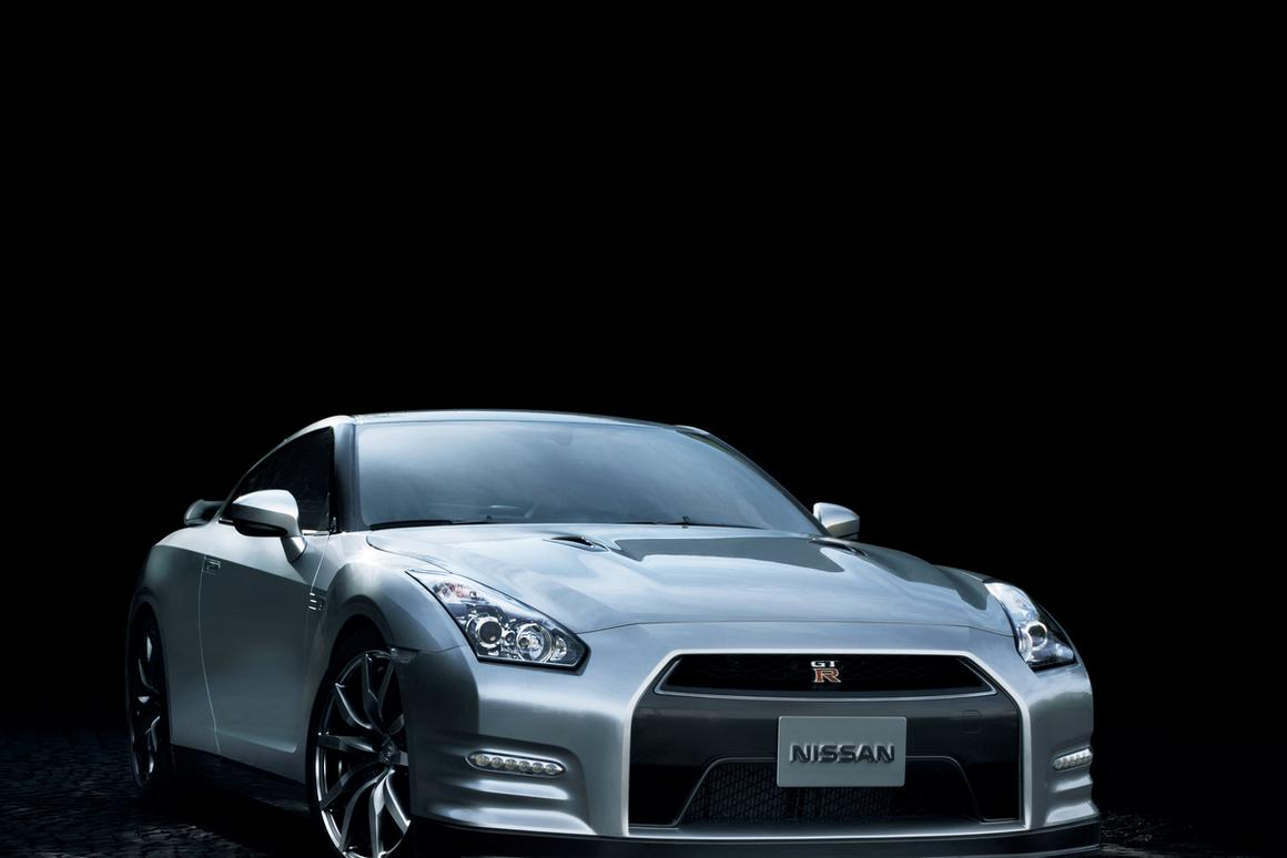 The 2013 Nissan GT-R