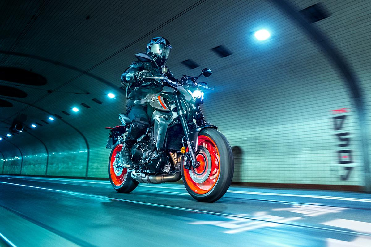 The MT09 was already one of the most giggle-packed bikes on the street, and it's getting significantly better for 2021