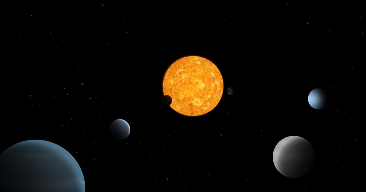 Exoplanet system discovered with strange balance of order and disorder