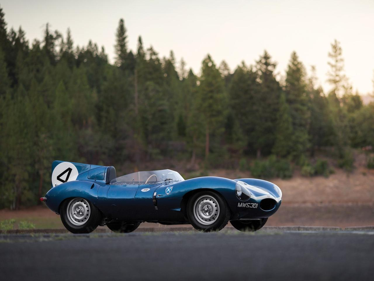 The D-Type first hit the track in 1954
