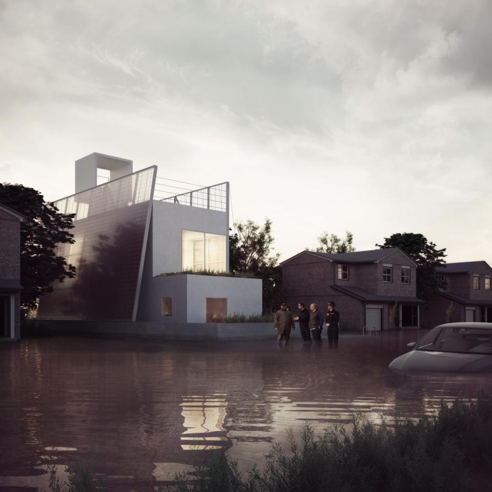 Floating House by UK-based Carl Turner Architects (Image: Carl Turner Architects)