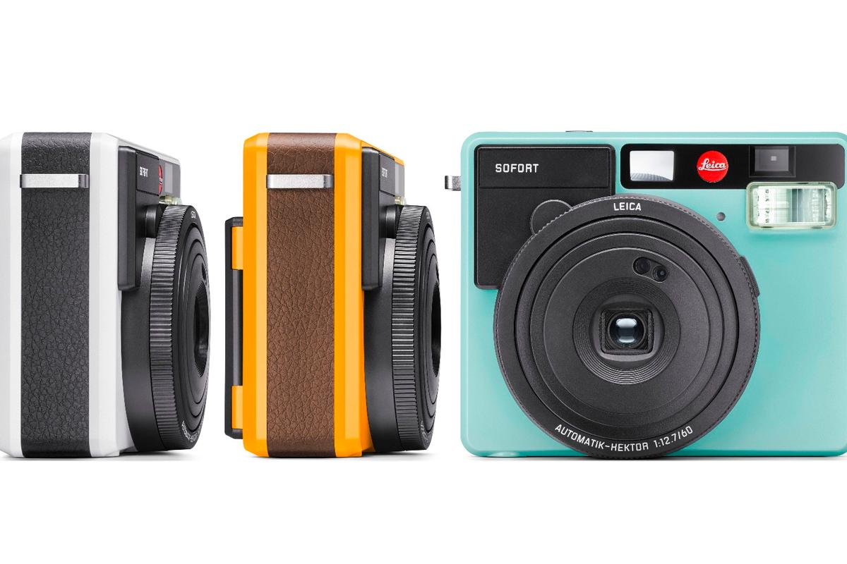 The Leica Sofort is a premium instant camera