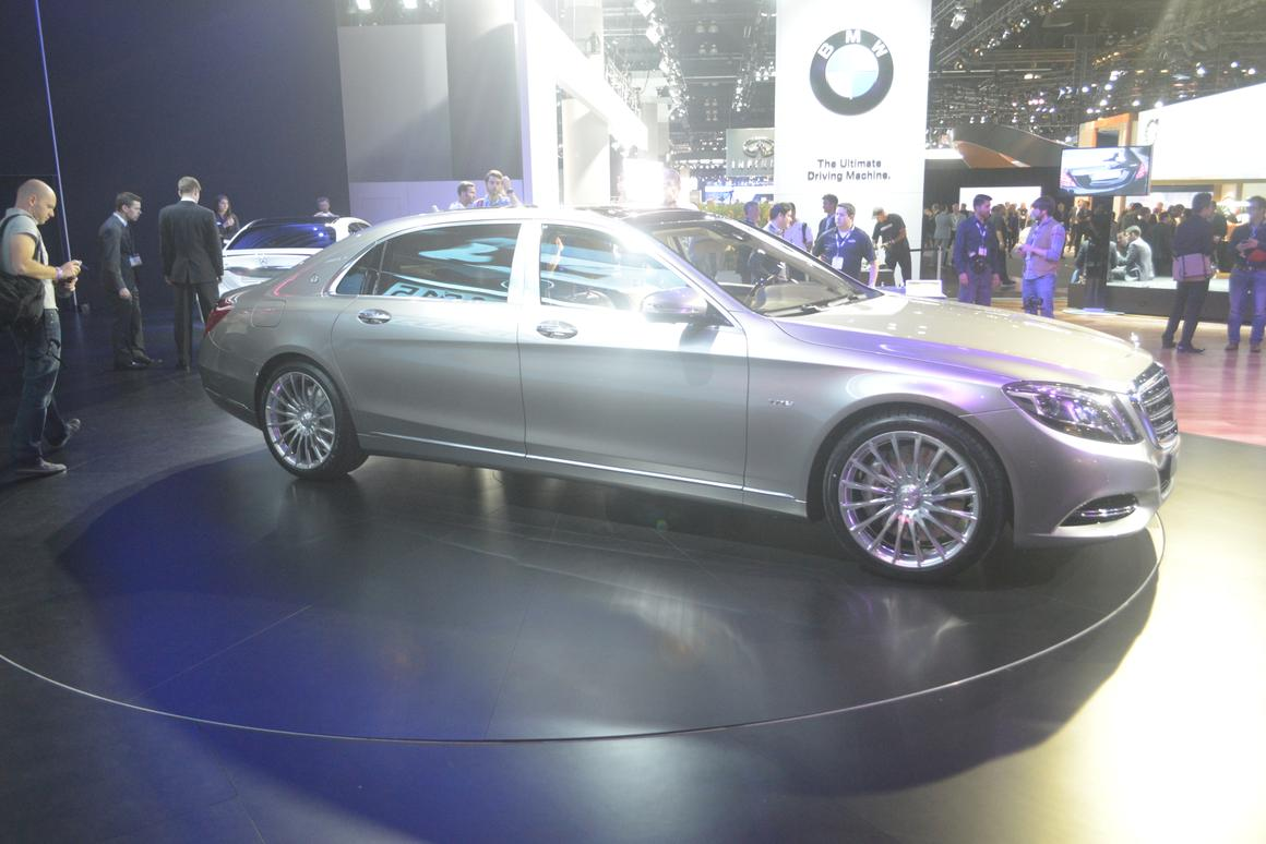 Mercedes revives Maybach name for long wheelbase S-Class