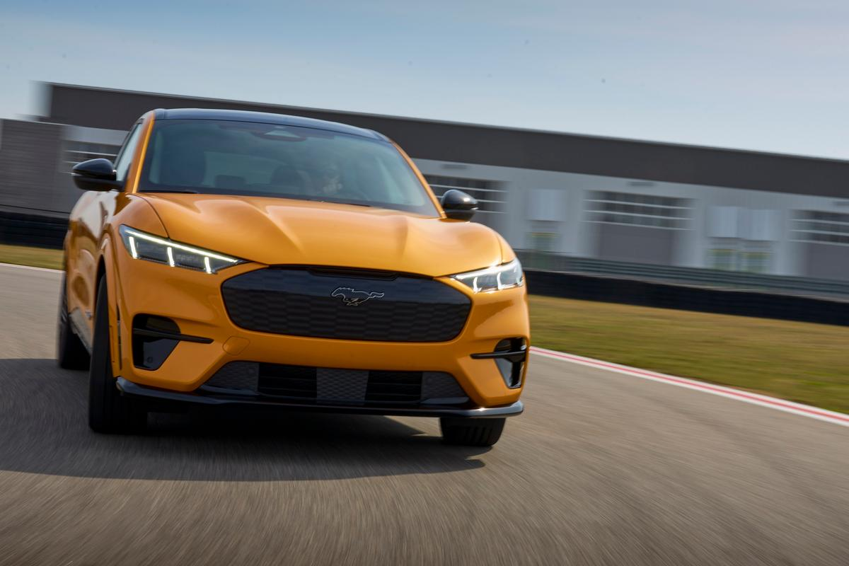 Mach-E GT and GT Performance Edition models add track-ready performance and power upticks