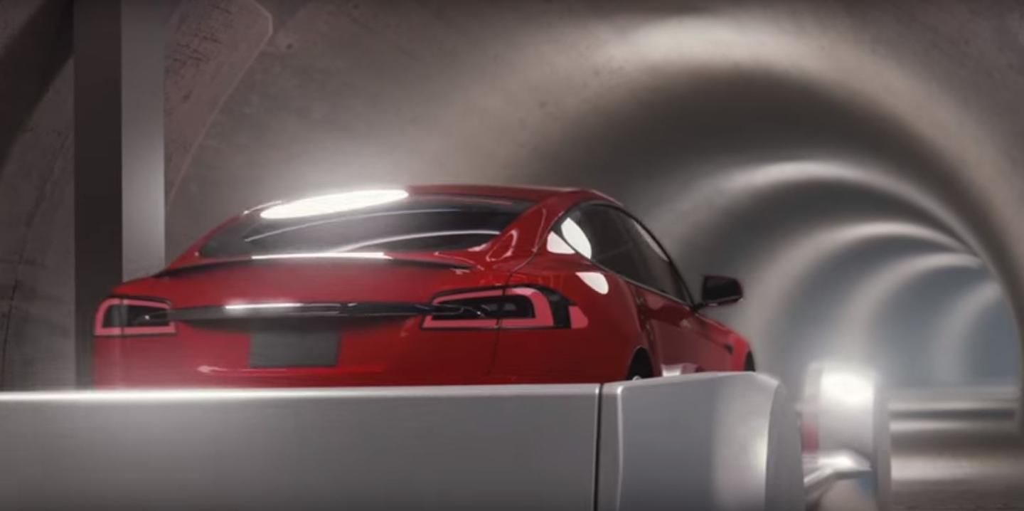 Elon Musk's Boring Company hopes to shoot cars through a network of tunnels