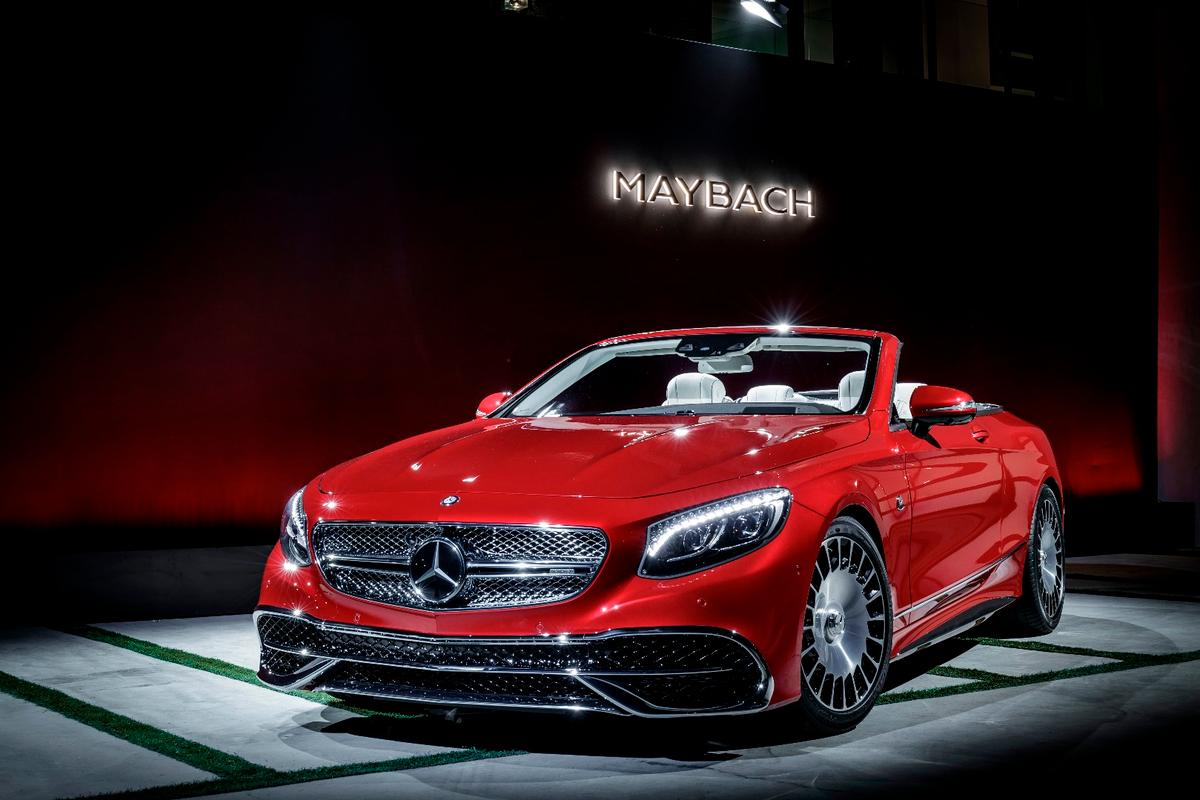 TheMercedes-Maybach S650Cabriolet is the first drop top in the modern Mercedes-Maybach lineup
