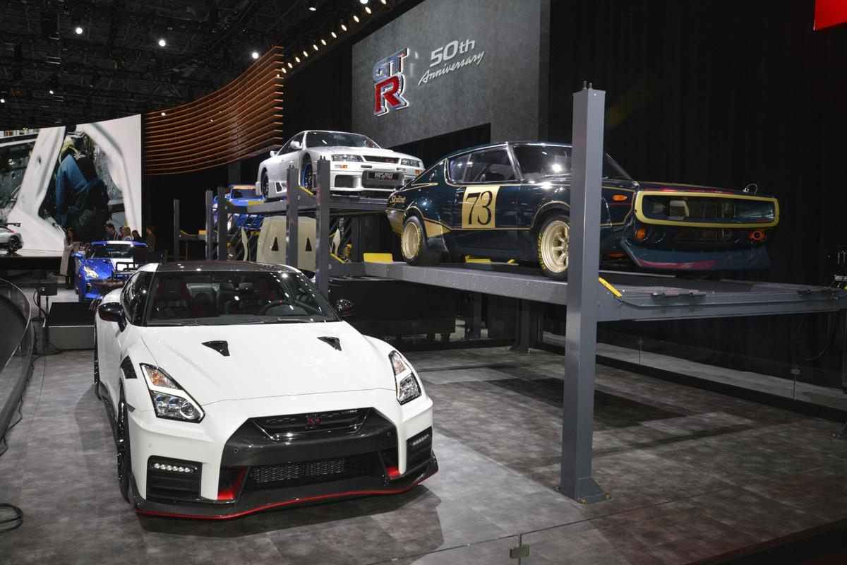 Nissan debuts the 2020 GT-R Nismo