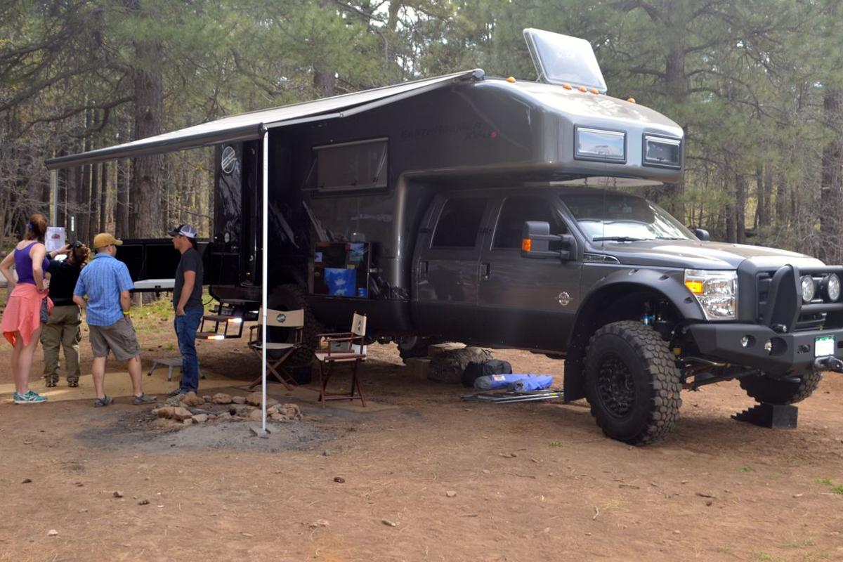 The 2014 EarthRoamer XV-LTS at Overland Expo