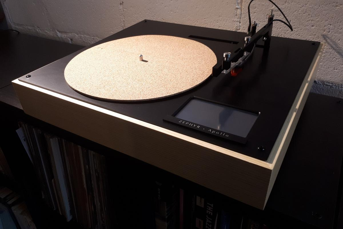 Analog sound, digital brains: The Zephyr Apollo turntable from Singapore's Vinylicious Music