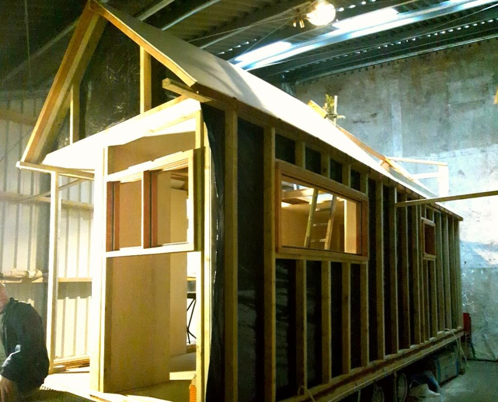 The total costs for the tiny house added up to a very reasonable €25,000 (about US$28,270)