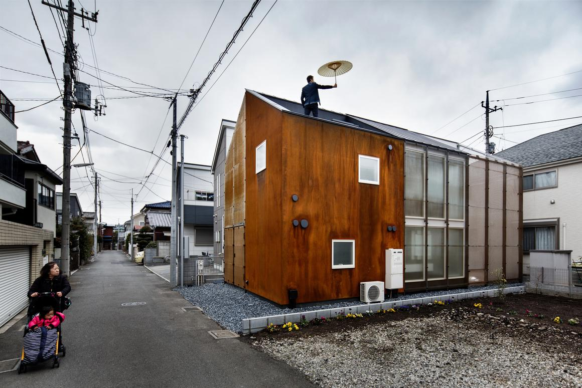 The Transustainable House, by Japanese architecture firm Sugawaradaisuke (Photo: Jérémie Souteyrat)