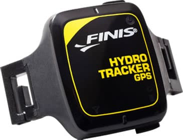 The FINIS Hydro Tracker GPS device allows open water swimmers to map their swims and record performance data