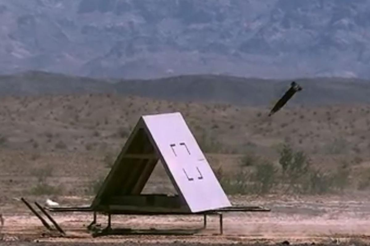 The Excalibur S uses GPS and lasers to hit moving targets