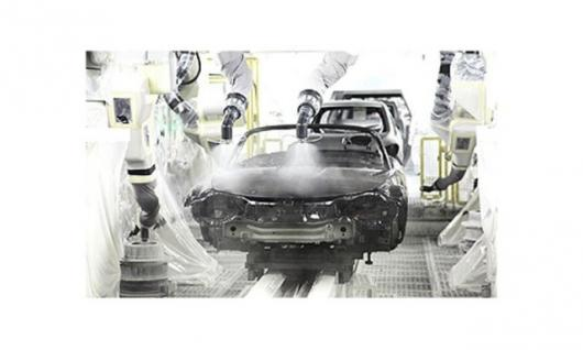 Mazda Aqua-tech Paint System