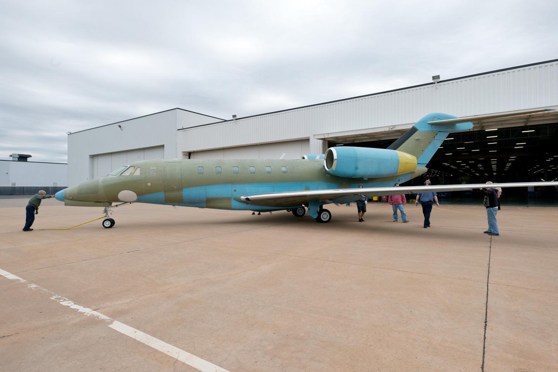 The new Citation X boasts a maximum speed of Mach 0.935