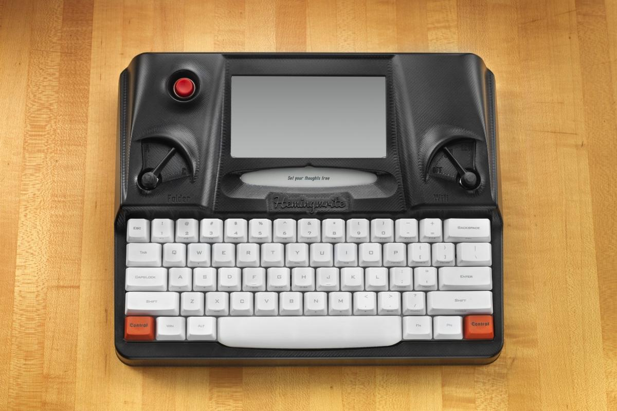 The Hemingwrite does away with the distractions of laptop computers and tablets