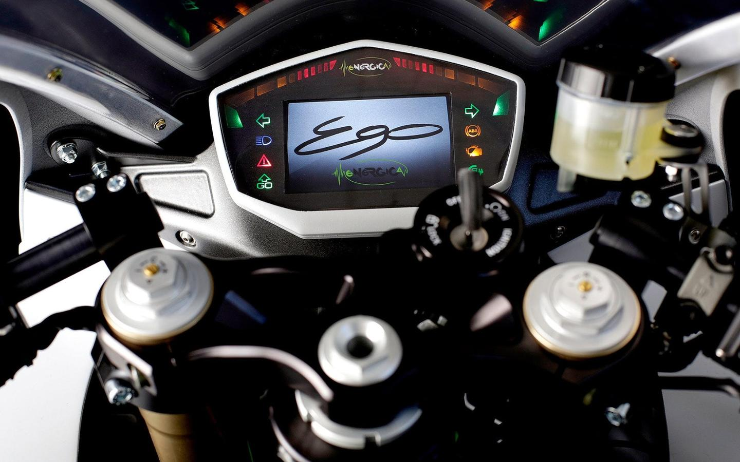 Energica Ego: digital dash