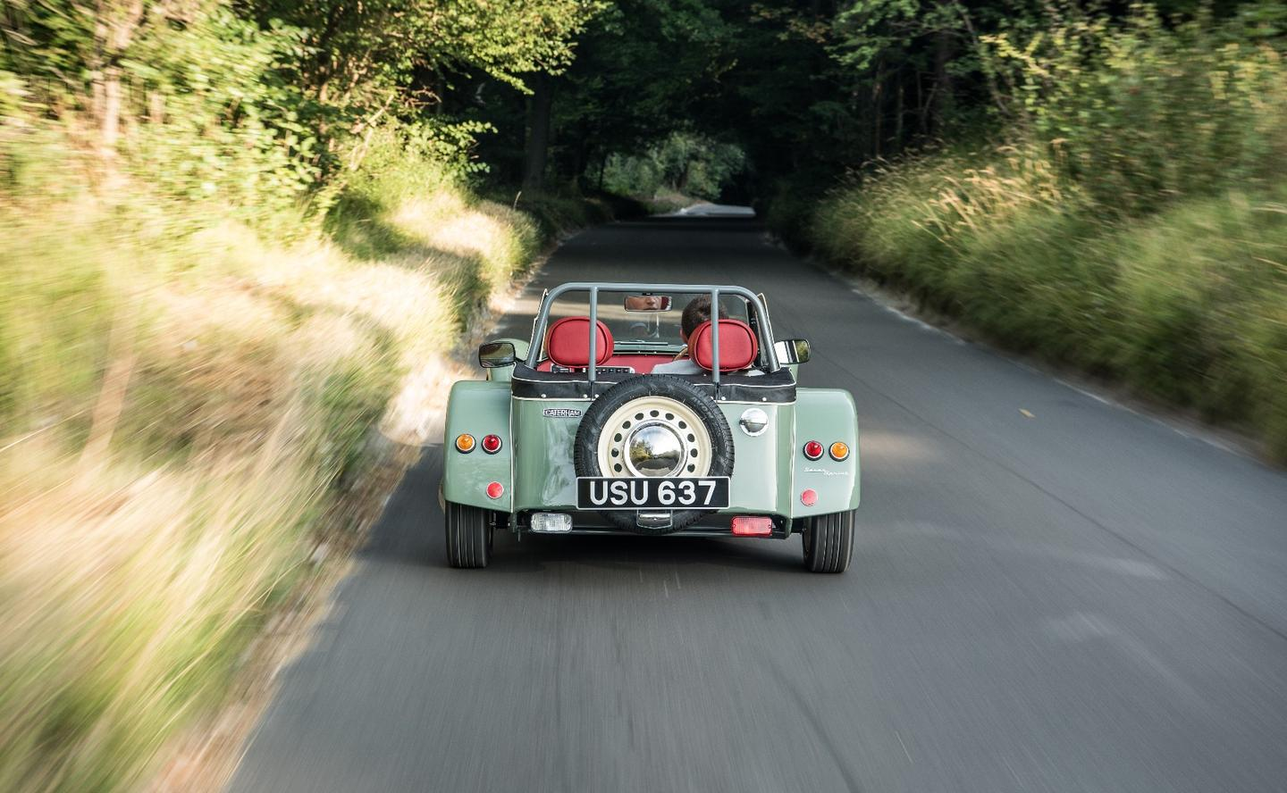 Caterham is throwing back to the '60s with its latest variant