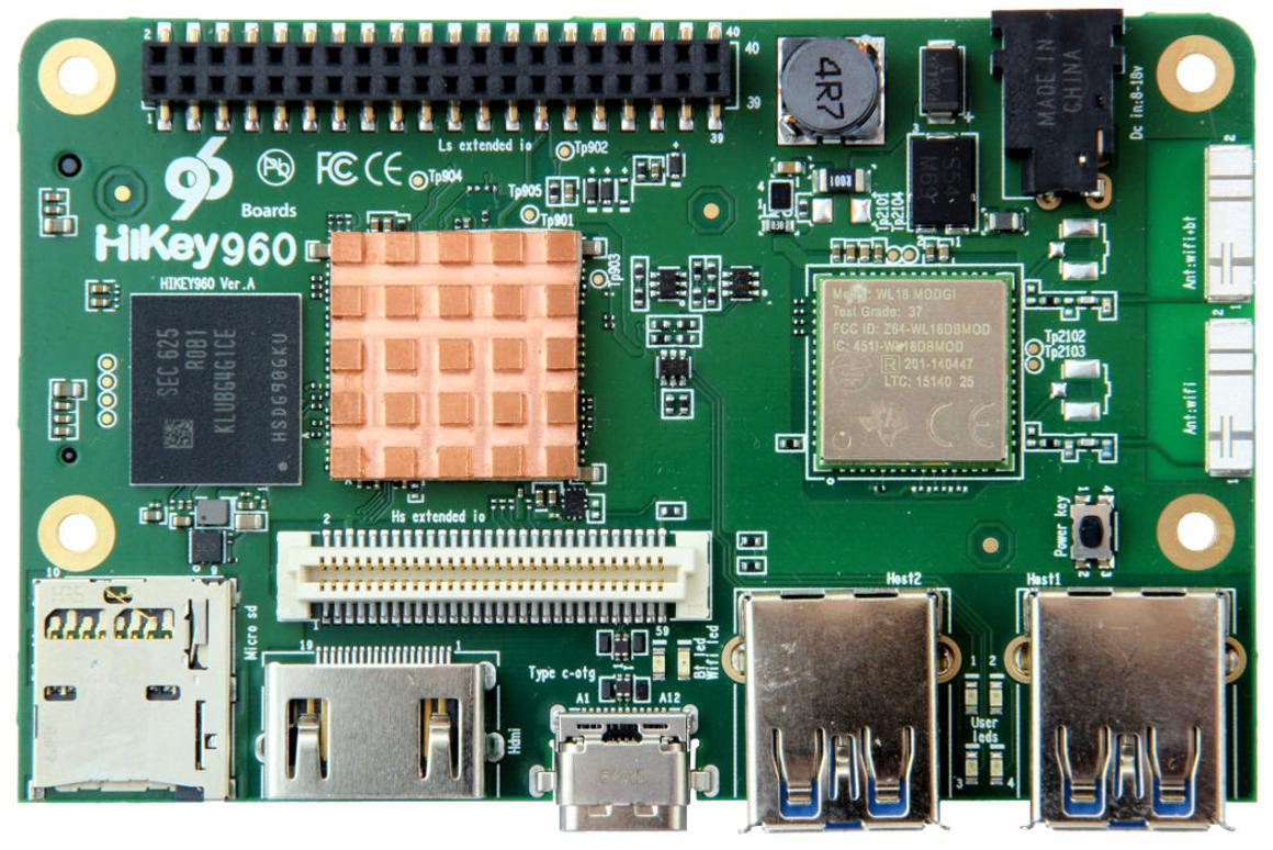 Pi-sized dev board packs high performance punch, and a high