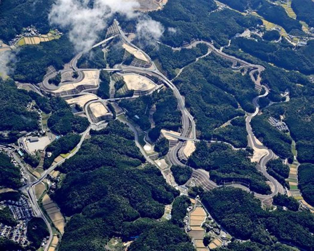 Toyota is building a miniature replica of parts ofthe Nurburgring Nordschleife circuit in Japan