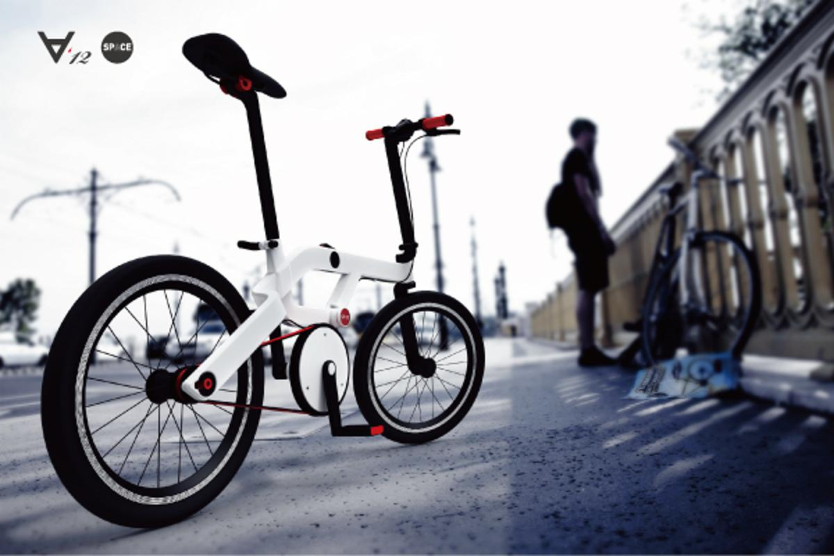 The SPACE folding bicycle promises to be both easy to store and comfortable to ride