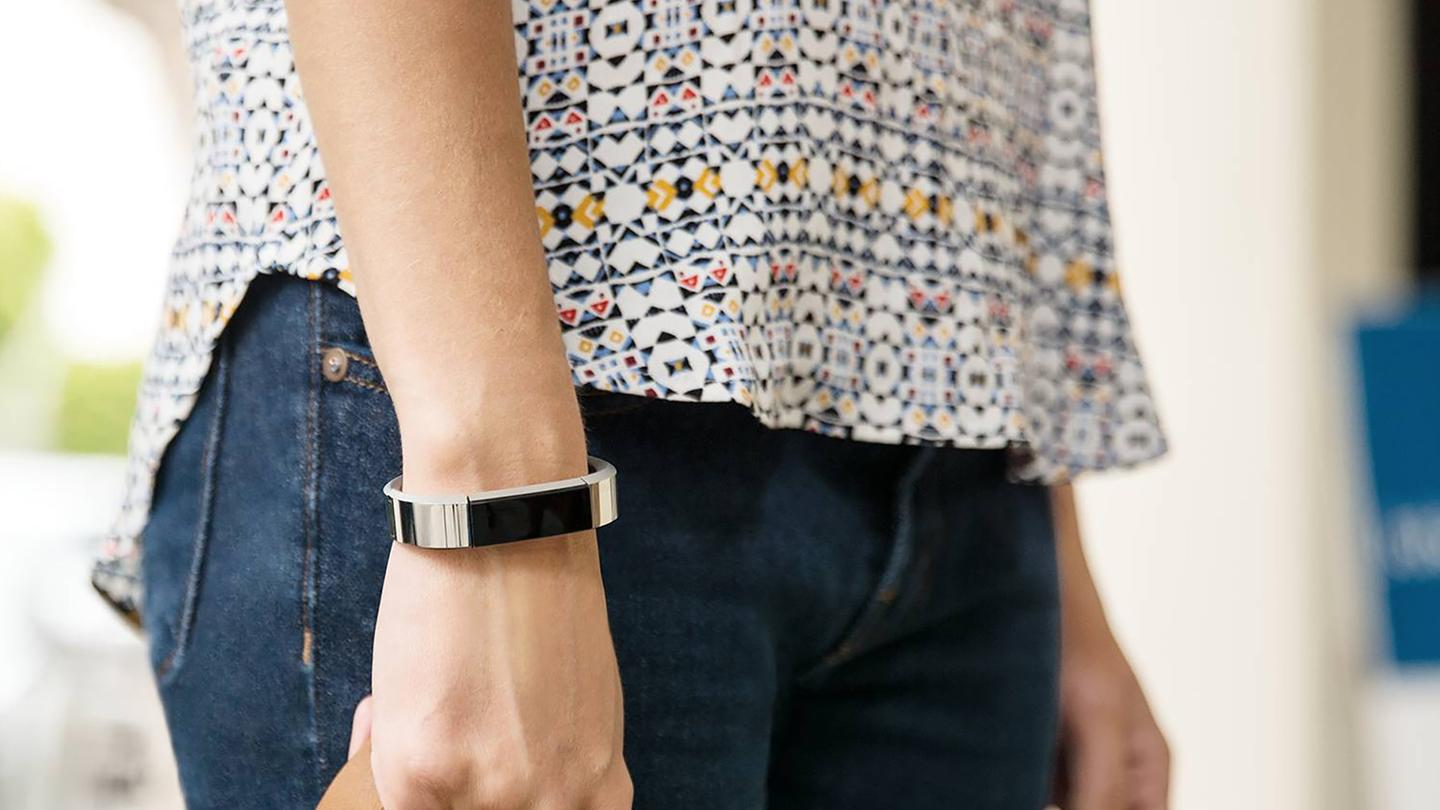 Fitbit Alta looks a bit sleeker than the rest of Fitbit's lineup, with the added bonus of paying more for leather or steel (pictured) bands