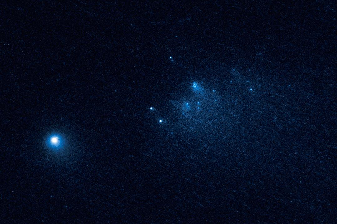 Captured on January 26 2016, this is the first of Hubble's images of Comet 332P