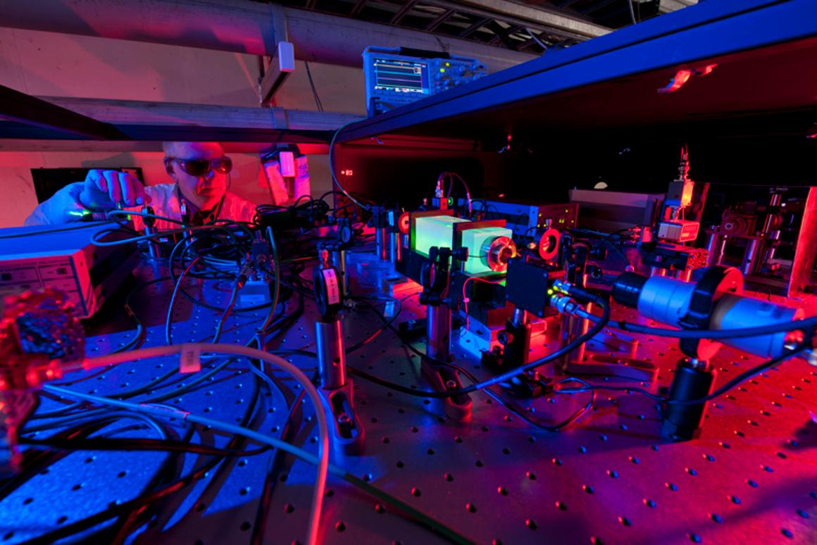 """Scientists will attempt to discover if the universe is """"real"""" or a holographic 3-D illusion (Photo: Fermilab)"""