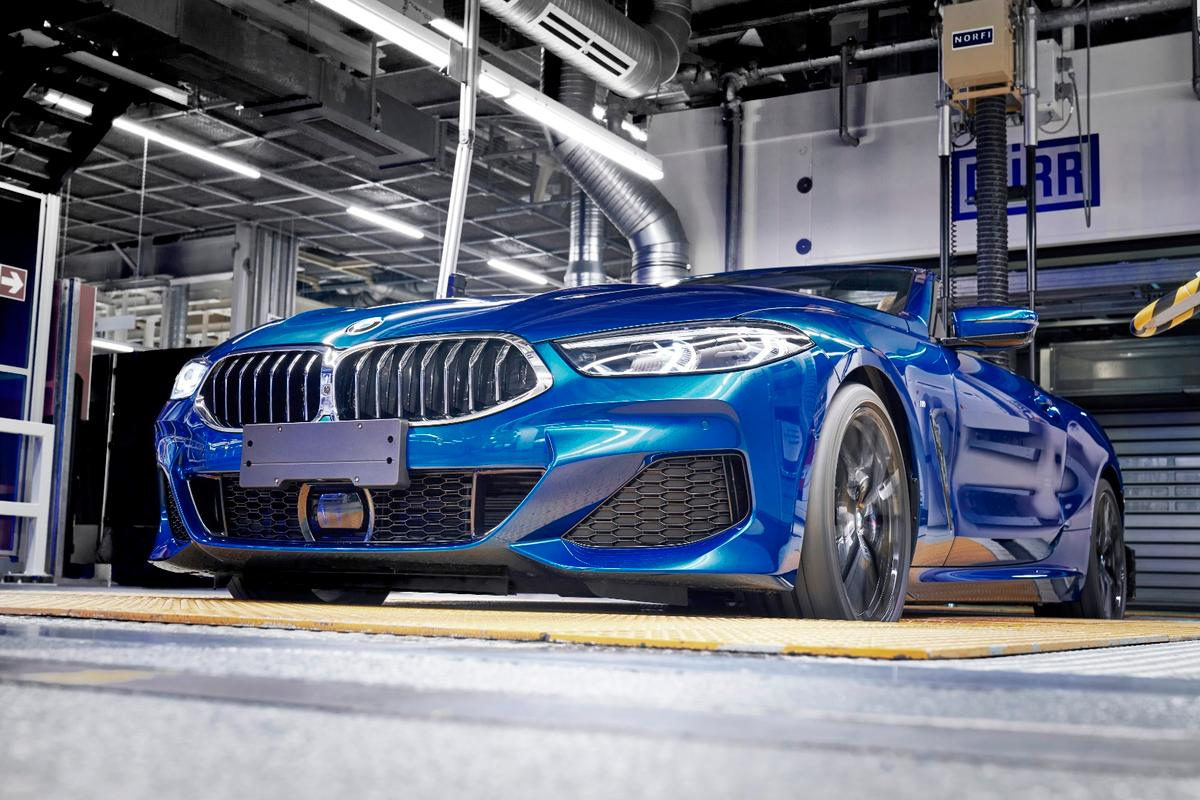 Production starts on the BMW8 Series Convertible
