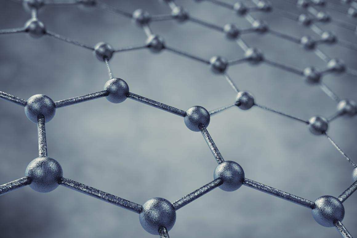 "By sandwiching a layer of ferric chloride molecules between two sheets of graphene (pictured) researchers have created ""GraphExeter"" as a viable alternative to ITO (Image: Shutterstock)"