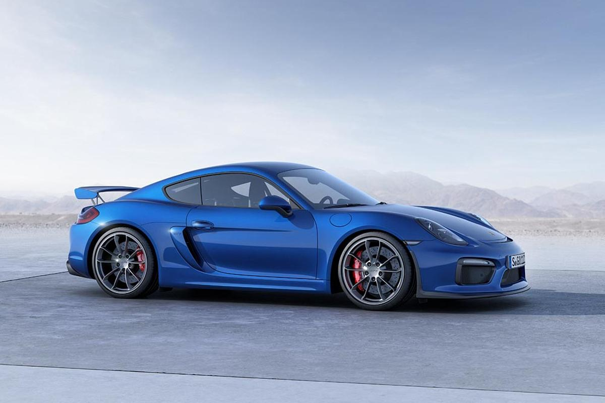 Porsche's new Cayman GT4 will debut at the Geneva Motor Show