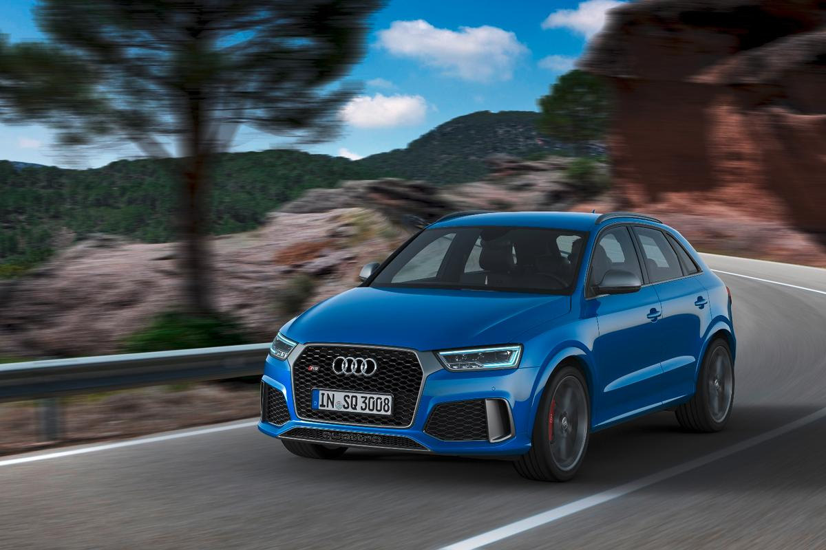 The Audi RS Q3 Performance has 362 hp on tap