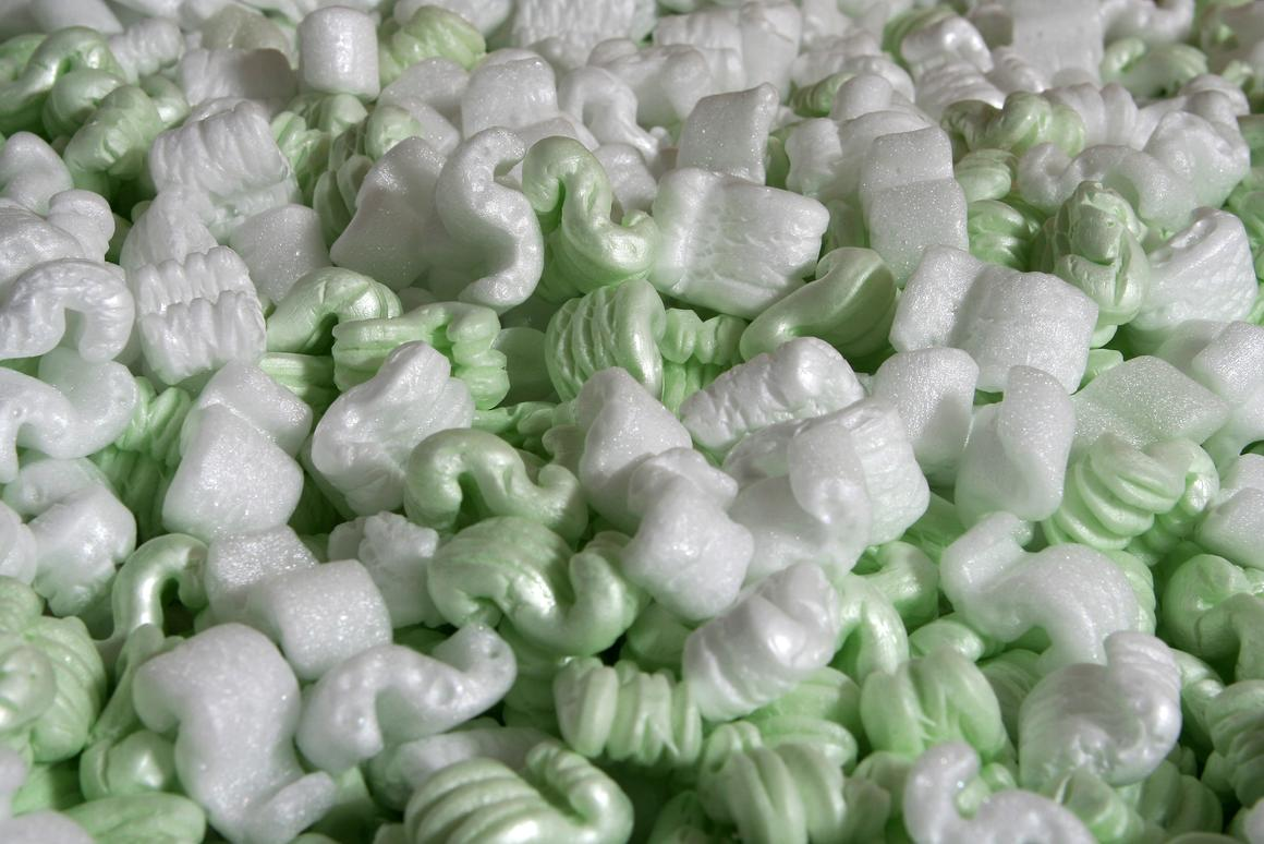 Packing peanuts may be good for more than just ... packing (Photo: Shutterstock)