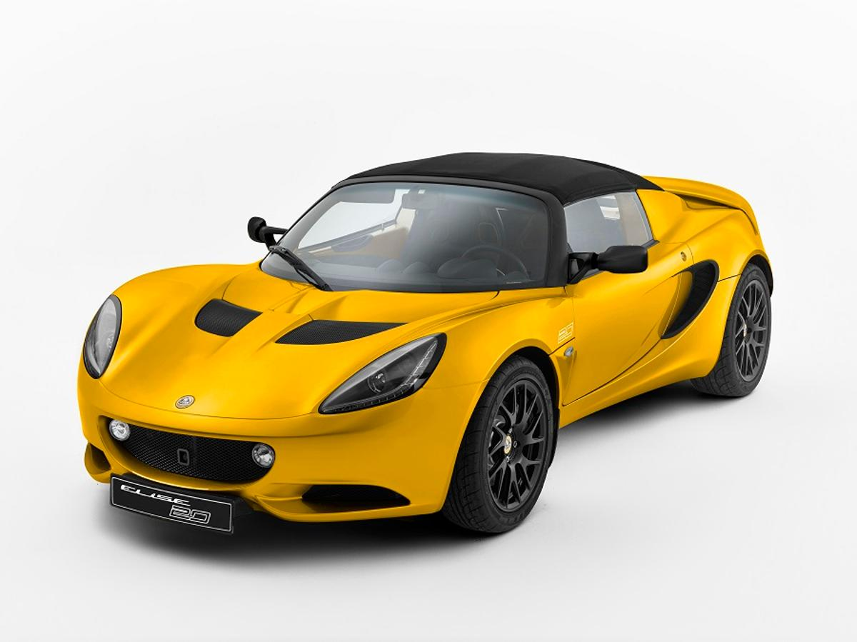 The Lotus Elise 20th Anniversary Special Edition (Photo: Lotus)