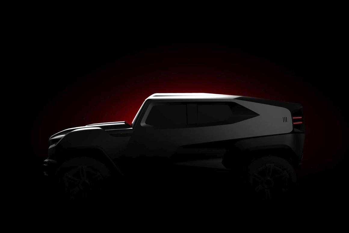 "Rezvani teases the ""toughest extreme utility vehicle on the planet"""