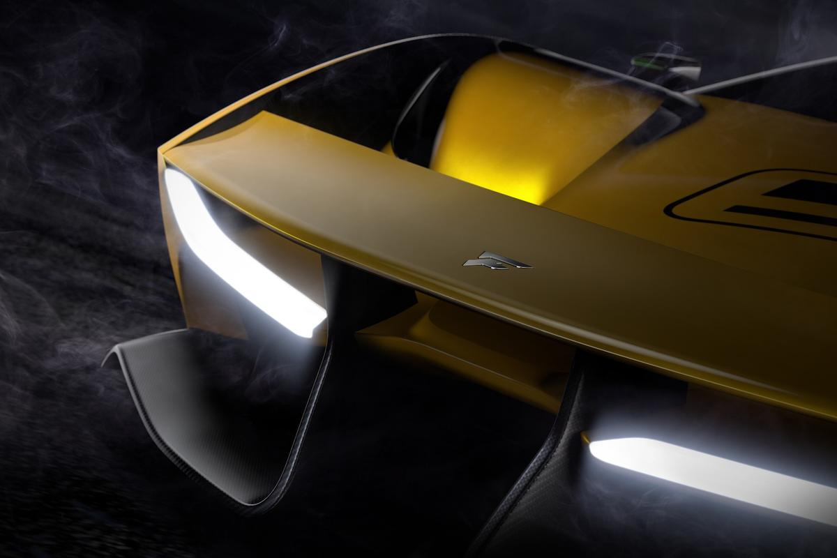 The EF7 will be revealed in full at the Geneva Auto Show