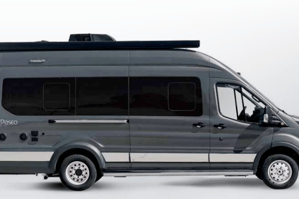 The Paseo is based on a Ford Transit with 3.5-liter V6 EcoBoost