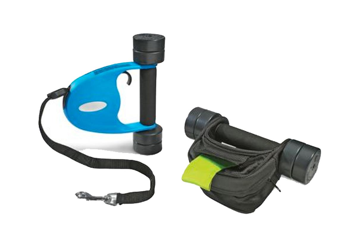 The adjustable Dog Walker Dumbbells