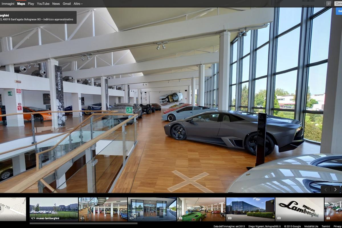 Lamborghini invites car fans to tour its museum on their computers