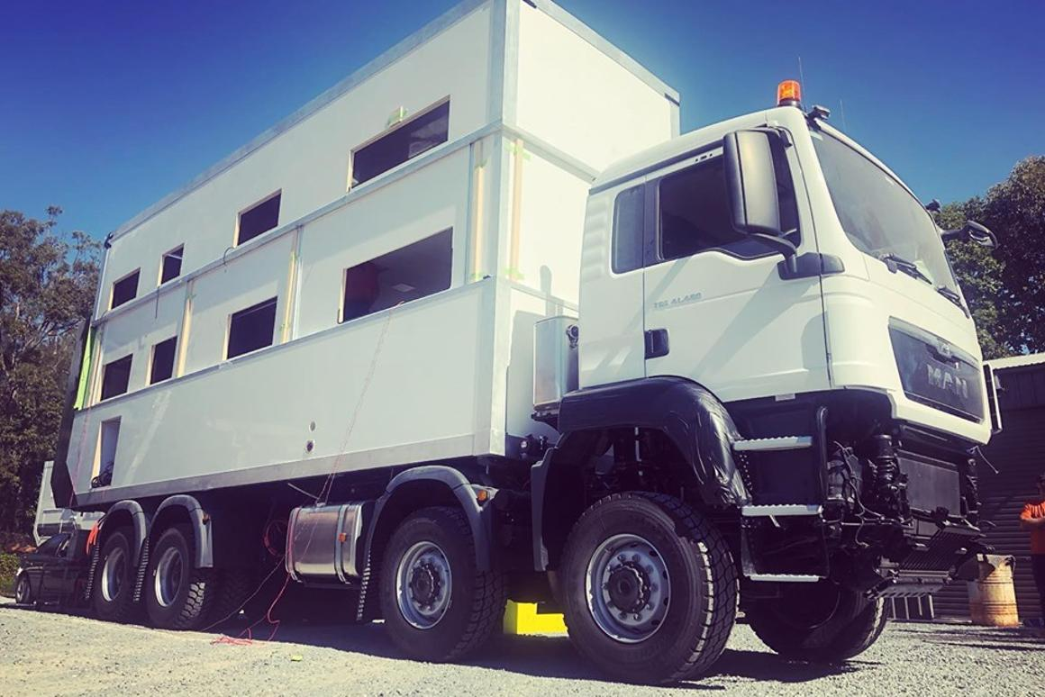 SLRV puts the lift system to the test