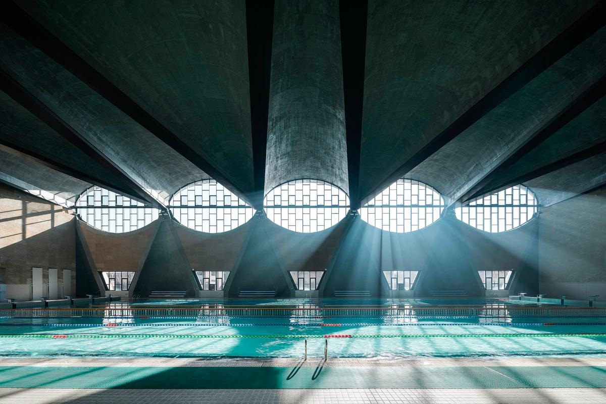 Chinese photographer Terrence Zhang has won the 2017 Architectural Photography Awards (aka Arcaid Awards) with this shot of a university swimming pool