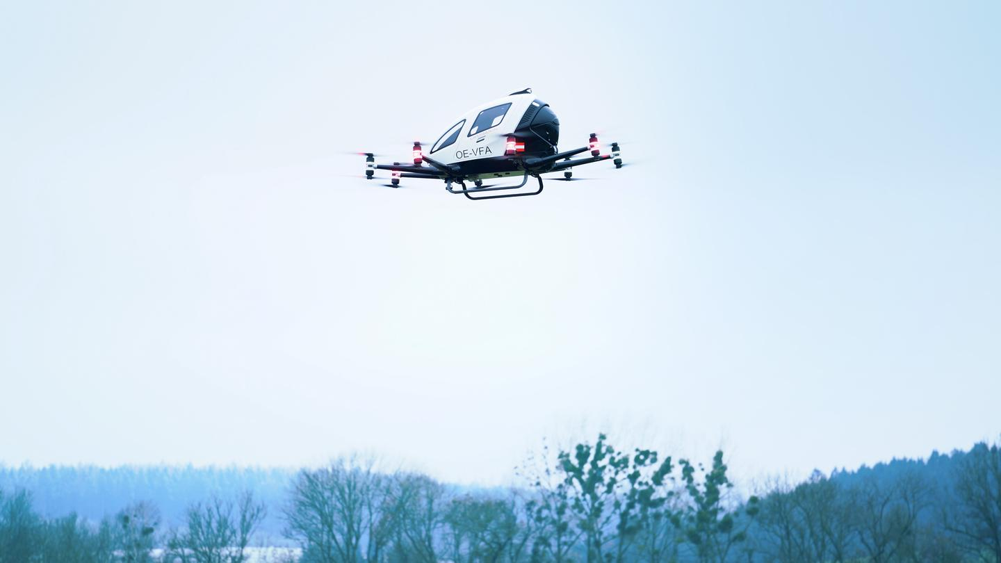 The permit follows a successful test flight in November in the province of Upper Austria