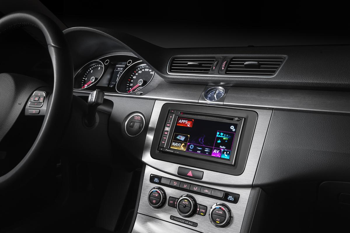 Pioneer's new in-car multimedia systems are the first to feature support for Apple's CarPlay