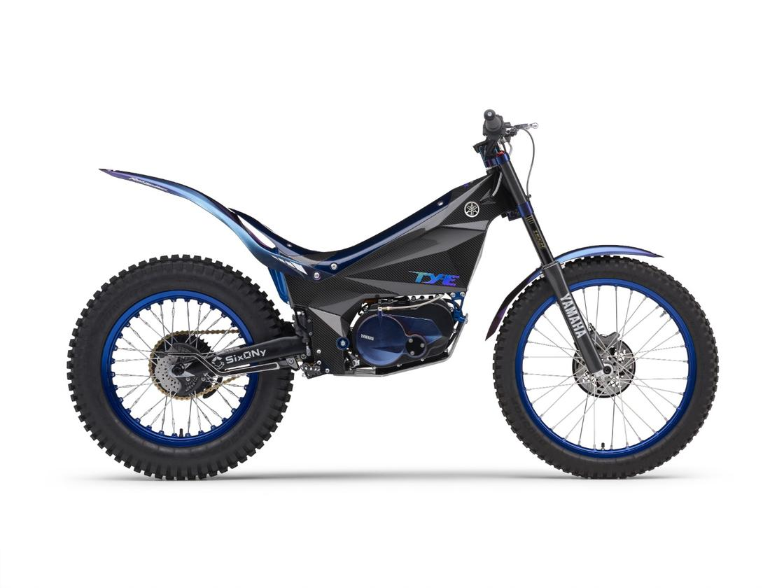 Yamaha introduced the 2018 TY-E electric trialsbike as a concept model, but also raced it at the FIMTrial-E Cup