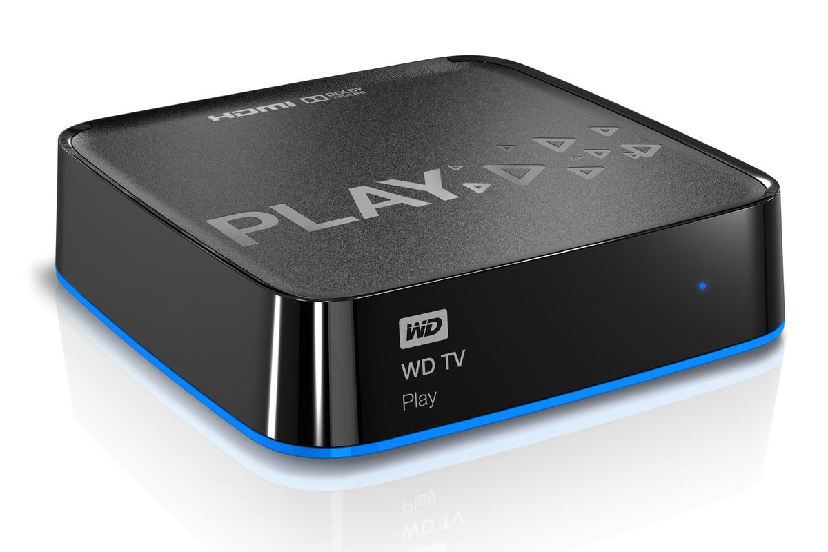 The TV Play also features Ethernet, HDMI, Composite A/V, built-in Wi-Fi and Optical audio