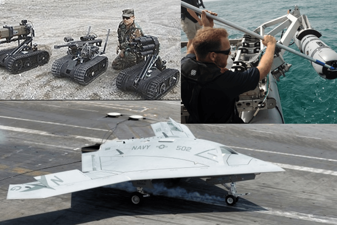 The Pentagon looks at the next 25 years of military robots