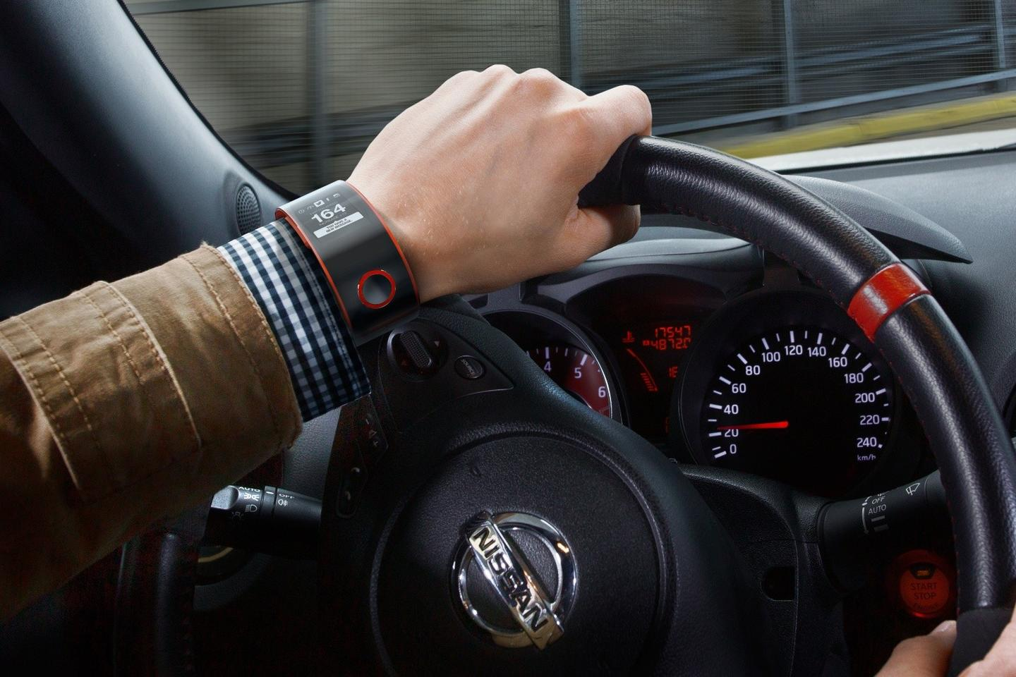 Nissan says the watch will be the first in an ongoing line of wearable devices for drivers