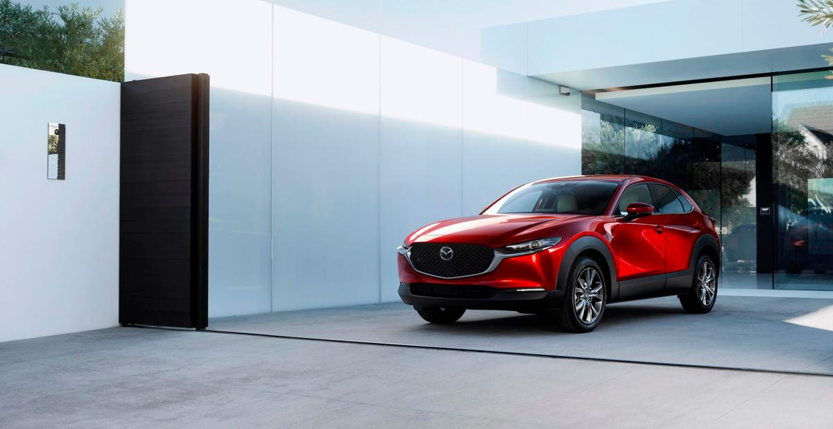 The Mazda CX-30 seems aimed at a sportier, more lifestyle-oriented market with emphasis on performance and drive appeal