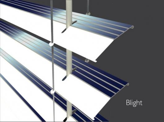 The integrated solar panels
